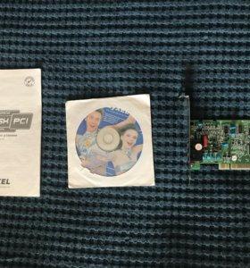 Модем dial-up Zyxel Omni 56k PCI