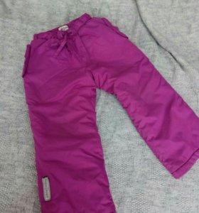 Утепленные штаны PlayToday на девочку рост 92
