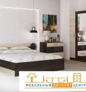 спальня, матрас, комод, шкаф