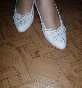 Туфли свадебные 37размер