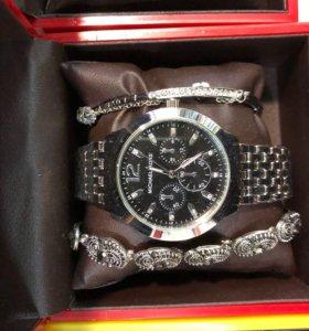 Часы в комплекте!качество шикарное👏новый!