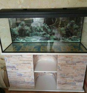 Продам большой аквариум 1.2*50*40