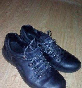 Кроссовки кожаные (44-45 размер)