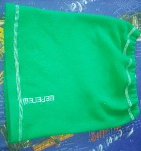 Зелёный подшлемник