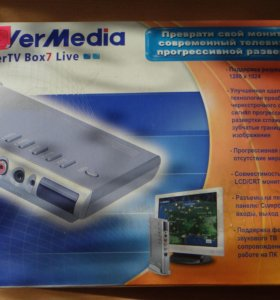 Тв-тюнер для мониторов avermedia BOX7