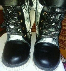 Ботинки зимние для девочки.