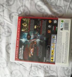 Диск Mortal Combat Essentials для PS3