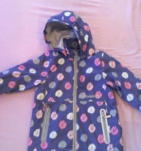 Куртка демисезонная для девочки crokid р-р. 92-98