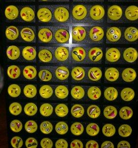 Серьги гвоздики 4пары за 100 руб. Одна пара 30