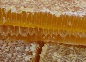 Мёд в сотах в баночке