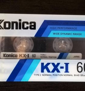 Аудиокассета Konica KX-I 60