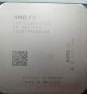 AMD FX6100 6 ядер 3.3мгц в режиме turbo core3.9мгц