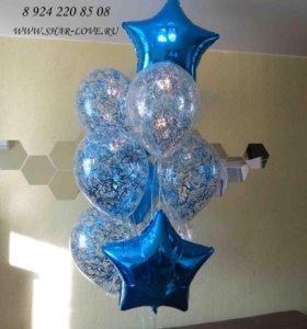 фонтан из шаров