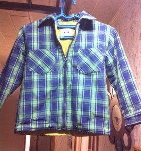 Рубашка на флисе фирмы ZEPLIN