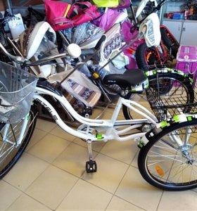 Велосипед трехколесный, взрослый