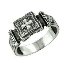 † Кольцо мужское(серебро)