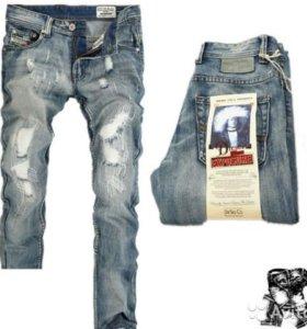 Джинсы новые Diesel Jeans есть размеры
