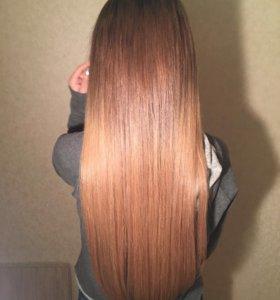Капсульное (итальянское) Наращивание волос