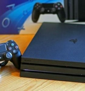 PS 4 pro + диск