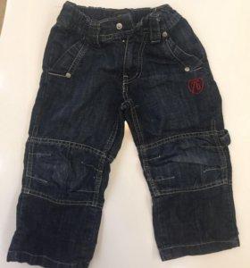 Джинсы на мальчика 86-95 см (2-3 года)