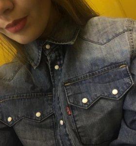 Джинсовая рубашка Levi's