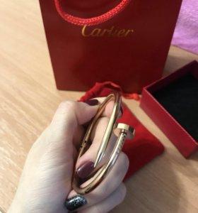 Браслет копия Cartier 1:1 rose gold