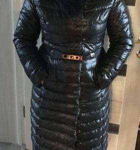 Пуховик - пальто зимний женский