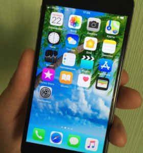 Айфон 6, 64 как Новенький с Отпечатком