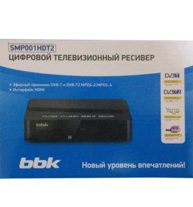 DVB-T2 приставка BBK SMP001HDT2