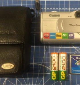 Компактный фотоаппарат Canon PowerShot A300