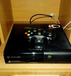 Продам xbox360 с джойстиком и дисками