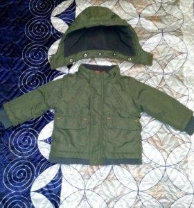 Куртка( парка) детская
