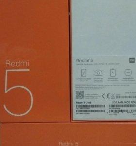 Xiaomi Redmi 5 Black (2/16) (НОВЫЕ)