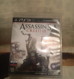 Игры на PS3, assasin creed 3