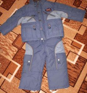 Детский костюм на 3-4 года. Зима.