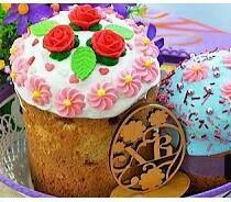 Куличи, капкейки пряники ,торты