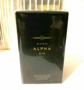 Alpha туалетная вода от Avon