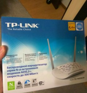 ADSL Wi-Fi роутер TP-LINK TD-W8961N