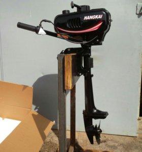 Лодочный мотор Hangkai 3.5 новый