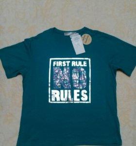 Новая футболка 46размер