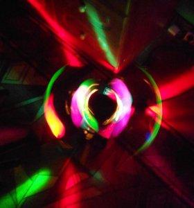 Eurolite double ball (световой эффект) Fireball