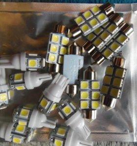 Светодиодные лампочки 12в