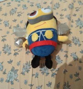 Плюшивая игрушка миньон-тор