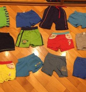 Футболки шорты трусы носки колготки