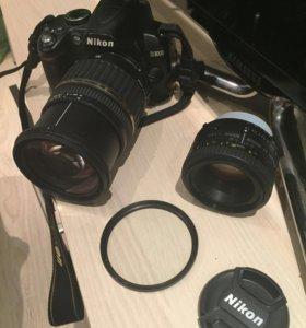 Фотоаппарат Nikon D3000 + большой комплект .