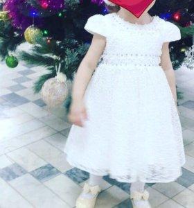 Праздничное платье от года до 2хлет