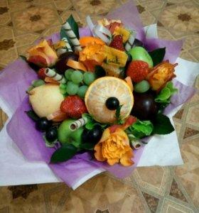 Вкусные сьедобные букеты