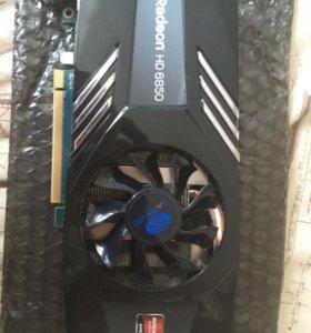 Видеокарта Radeon HD6850 1GB