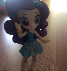 Мини кукла эквестрия герлз (Рарити)