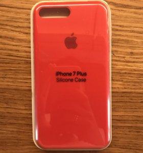 Силиконовый чехол на iPhone 7,8 и 7,8 plus